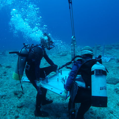 Installation of the Ocean Observatory System