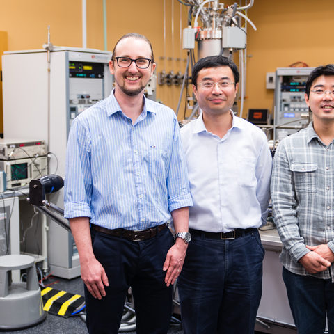 Energy Materials and Surface Sciences Unit Researchers